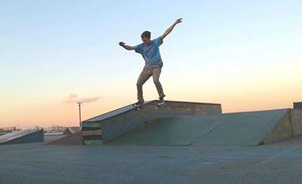 Aaron Skating 2