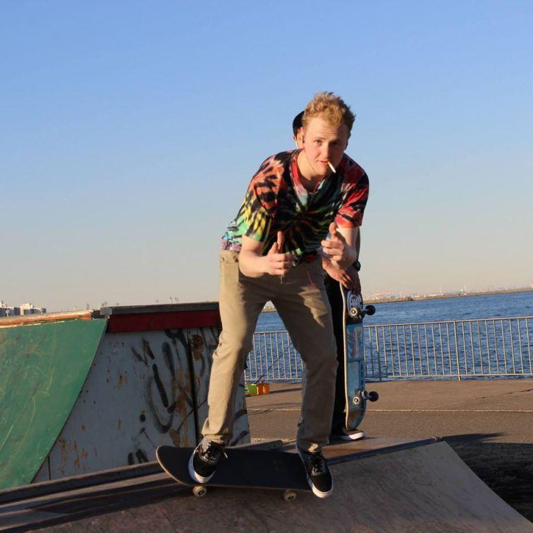 Aaron Skating